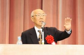 有馬先生講演 「次世代へのメッセージ」